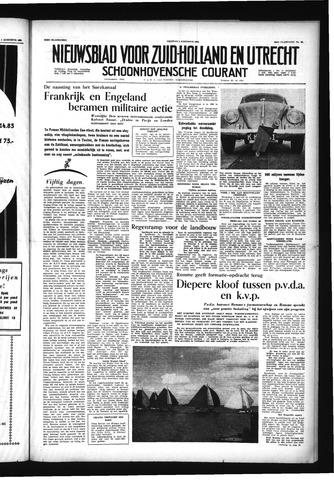 Schoonhovensche Courant 1956-08-03
