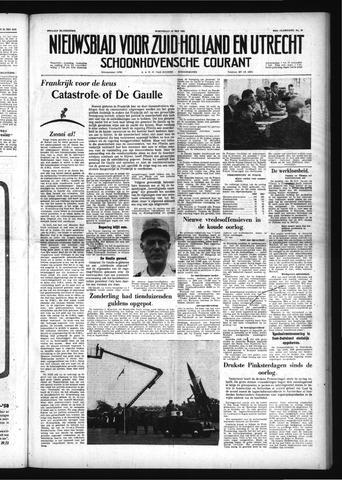 Schoonhovensche Courant 1958-05-28