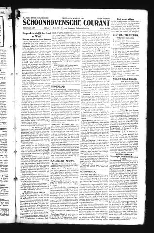 Schoonhovensche Courant 1945-03-16
