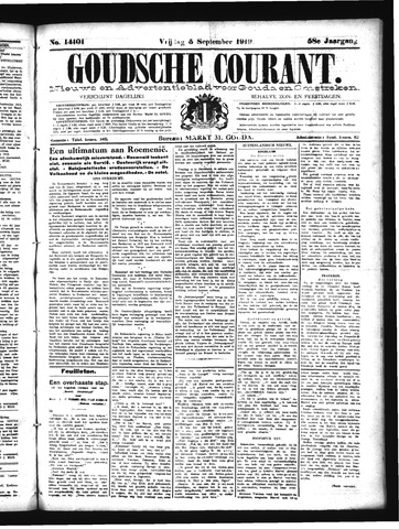 Goudsche Courant 1919-09-05