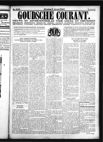 Goudsche Courant 1937-01-12
