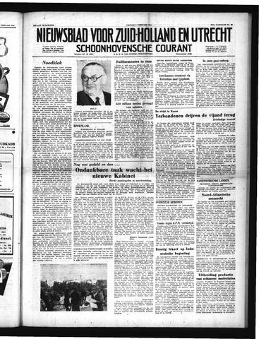 Schoonhovensche Courant 1951-02-09