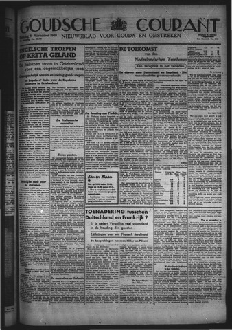 Goudsche Courant 1940-11-05