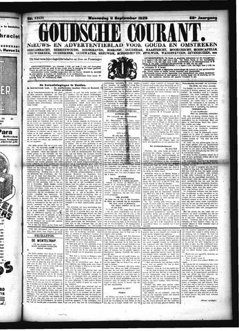 Goudsche Courant 1929-09-11