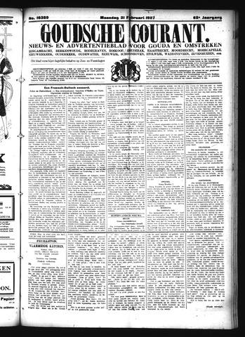 Goudsche Courant 1927-02-21