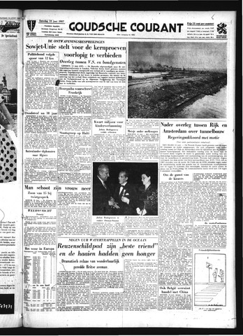 Goudsche Courant 1957-06-15