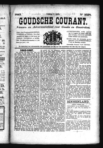 Goudsche Courant 1887-04-01