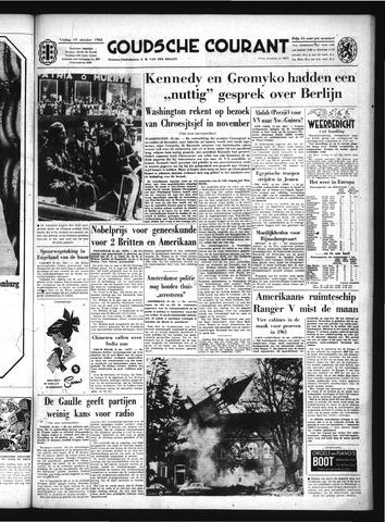 Goudsche Courant 1962-10-19