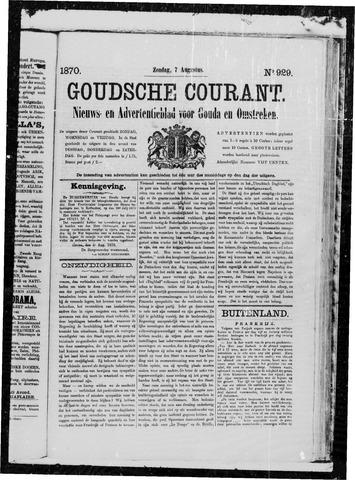 Goudsche Courant 1870-08-07