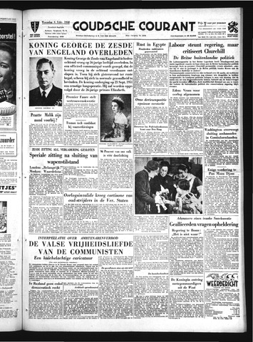Goudsche Courant 1952-02-06