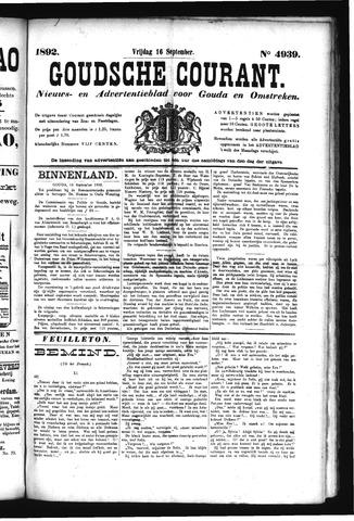 Goudsche Courant 1892-09-16