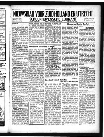 Schoonhovensche Courant 1947-09-29