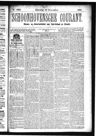 Schoonhovensche Courant 1901-12-28