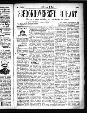 Schoonhovensche Courant 1911-07-01