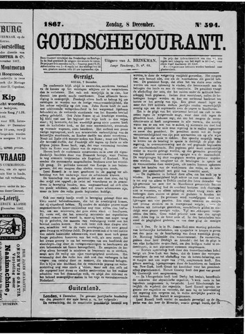 Goudsche Courant 1867-12-08