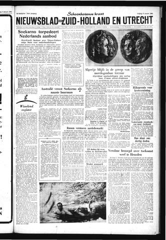 Schoonhovensche Courant 1962-01-05