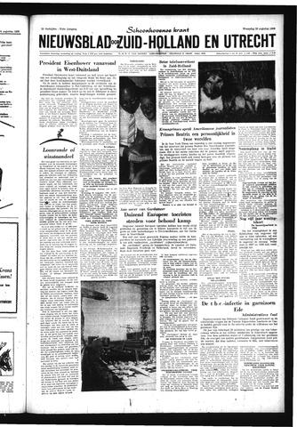 Schoonhovensche Courant 1959-08-26