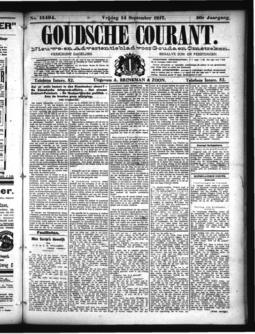 Goudsche Courant 1917-09-14