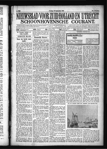 Schoonhovensche Courant 1928-09-28
