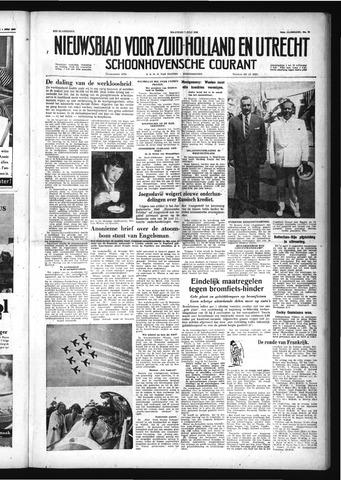 Schoonhovensche Courant 1958-07-07