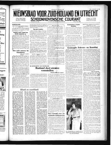 Schoonhovensche Courant 1952-08-25