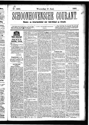 Schoonhovensche Courant 1902-06-18