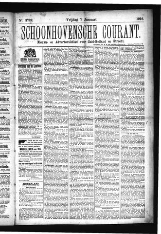 Schoonhovensche Courant 1916-01-07