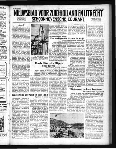 Schoonhovensche Courant 1950-08-23