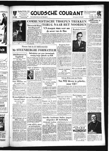 Goudsche Courant 1951-02-19