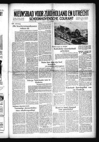 Schoonhovensche Courant 1954-04-12