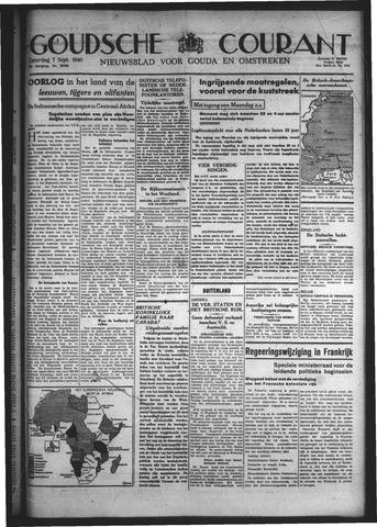 Goudsche Courant 1940-09-07