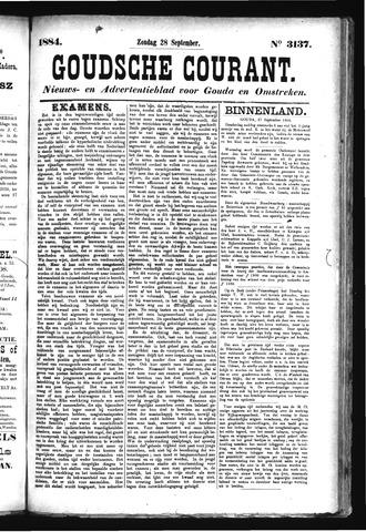 Goudsche Courant 1884-09-28
