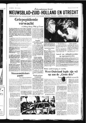 Schoonhovensche Courant 1968-11-25