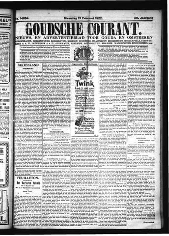 Goudsche Courant 1922-02-13