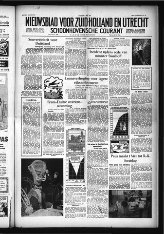 Schoonhovensche Courant 1955-05-03