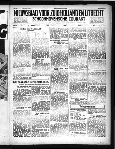 Schoonhovensche Courant 1936-01-06
