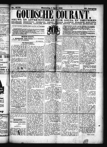 Goudsche Courant 1928-04-04