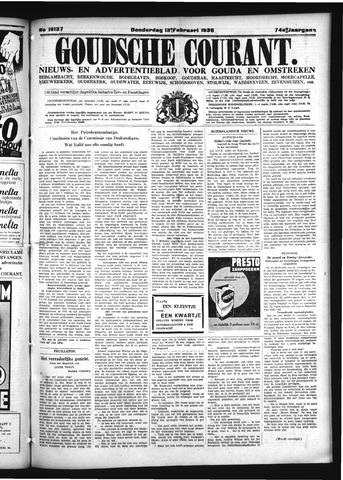 Goudsche Courant 1936-02-13
