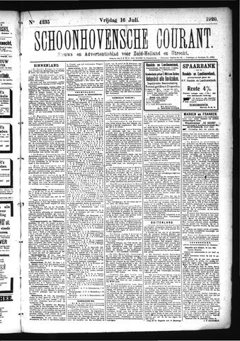 Schoonhovensche Courant 1920-07-16