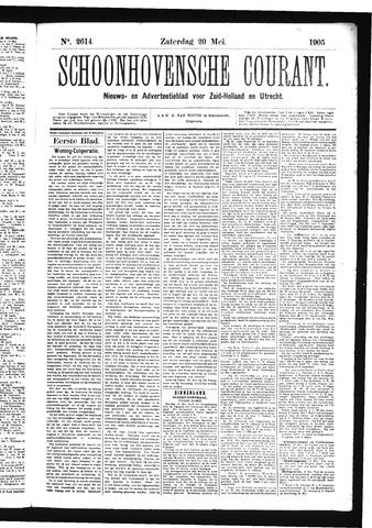 Schoonhovensche Courant 1905-05-20