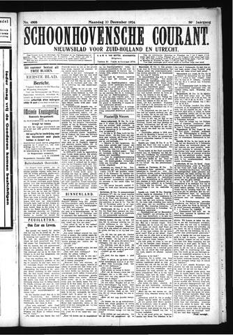 Schoonhovensche Courant 1924-12-22