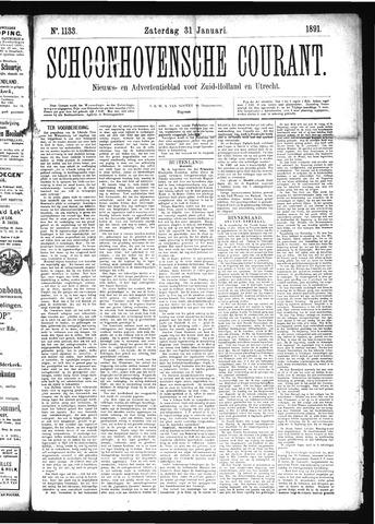 Schoonhovensche Courant 1891-01-31