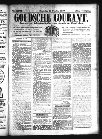 Goudsche Courant 1910-10-31