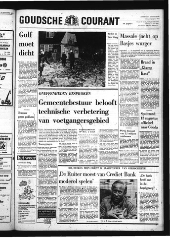 Goudsche Courant 1971-08-07