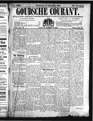 Goudsche Courant 1914-12-17
