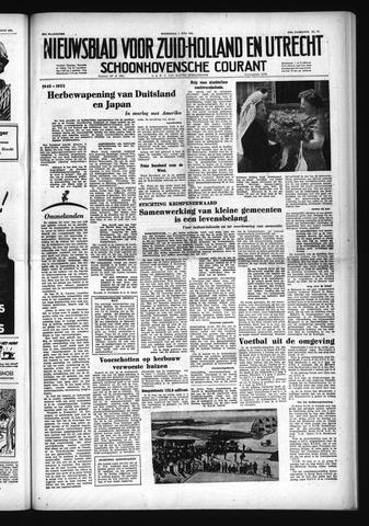 Schoonhovensche Courant 1953-07-01