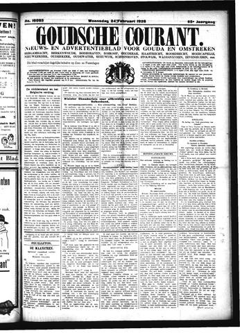 Goudsche Courant 1925-02-24