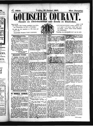 Goudsche Courant 1907-01-25
