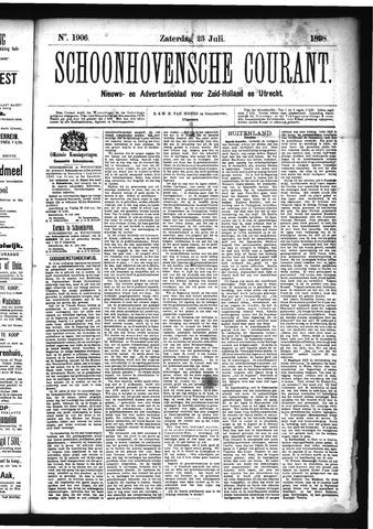 Schoonhovensche Courant 1898-07-23