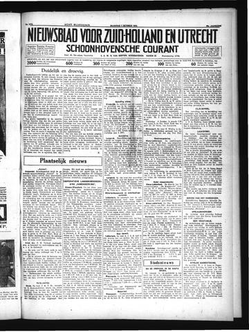 Schoonhovensche Courant 1934-10-01